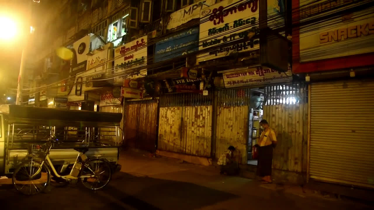 Myanmar: Police, army vehicles deployed in Yangon after military takeover