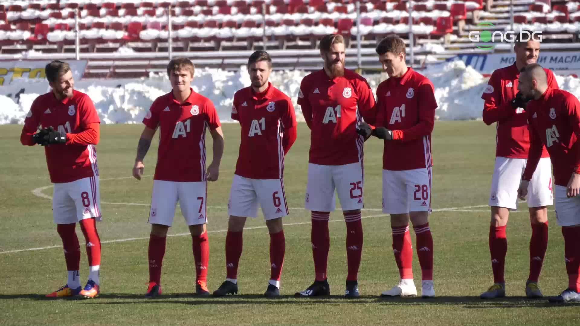 ЦСКА представи отбора за пролетта