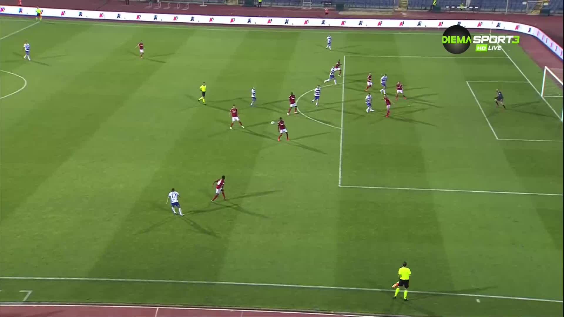 ЦСКА допусна нелеп гол в продължението