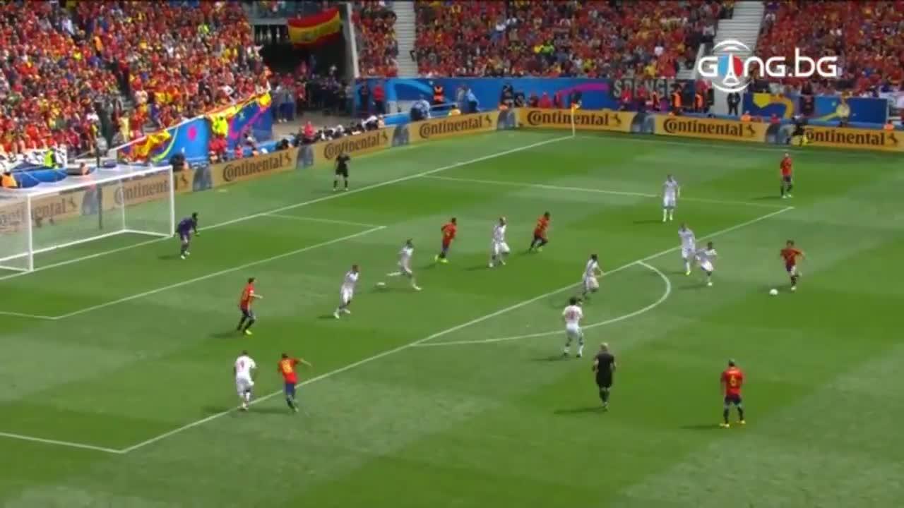 Испания - Чехия 1:0 /репортаж/