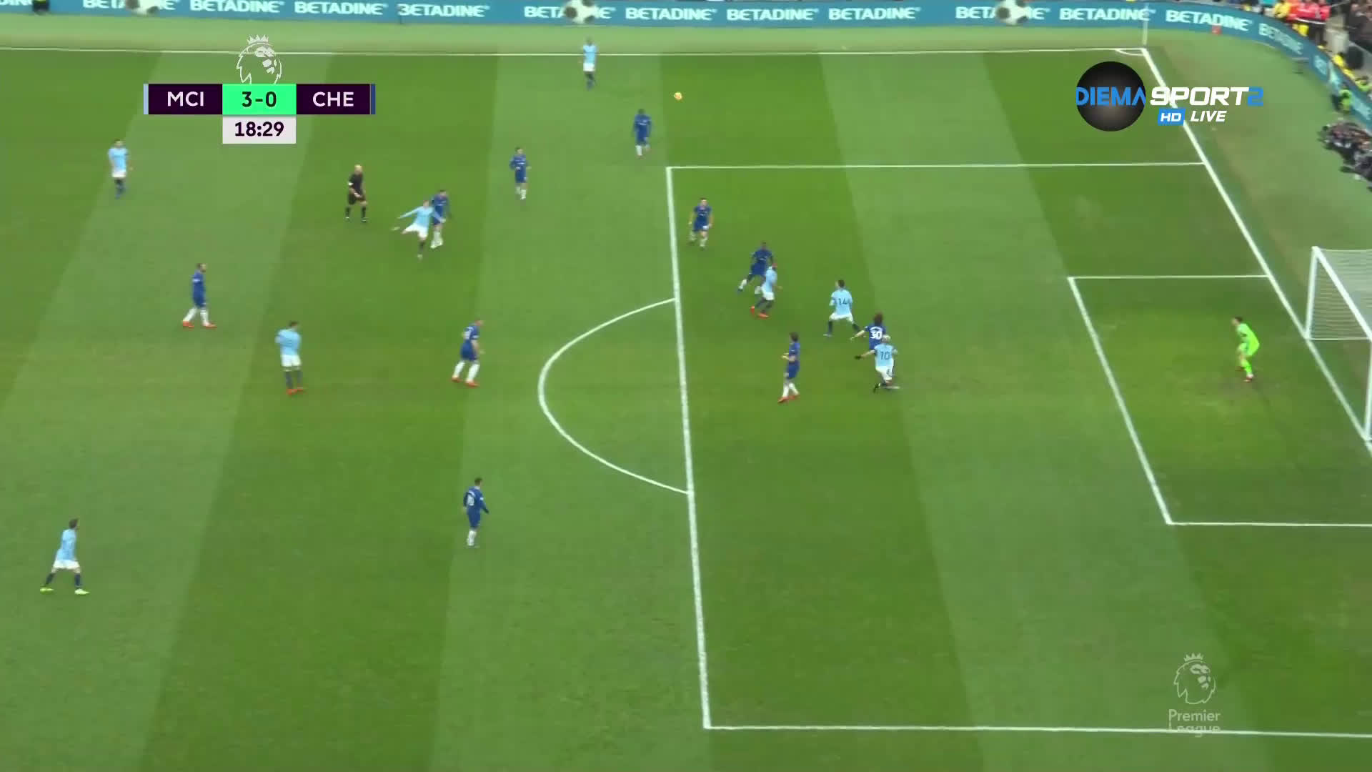 """Голяма \""""синя\"""" грешка и нов гол за Агуеро"""