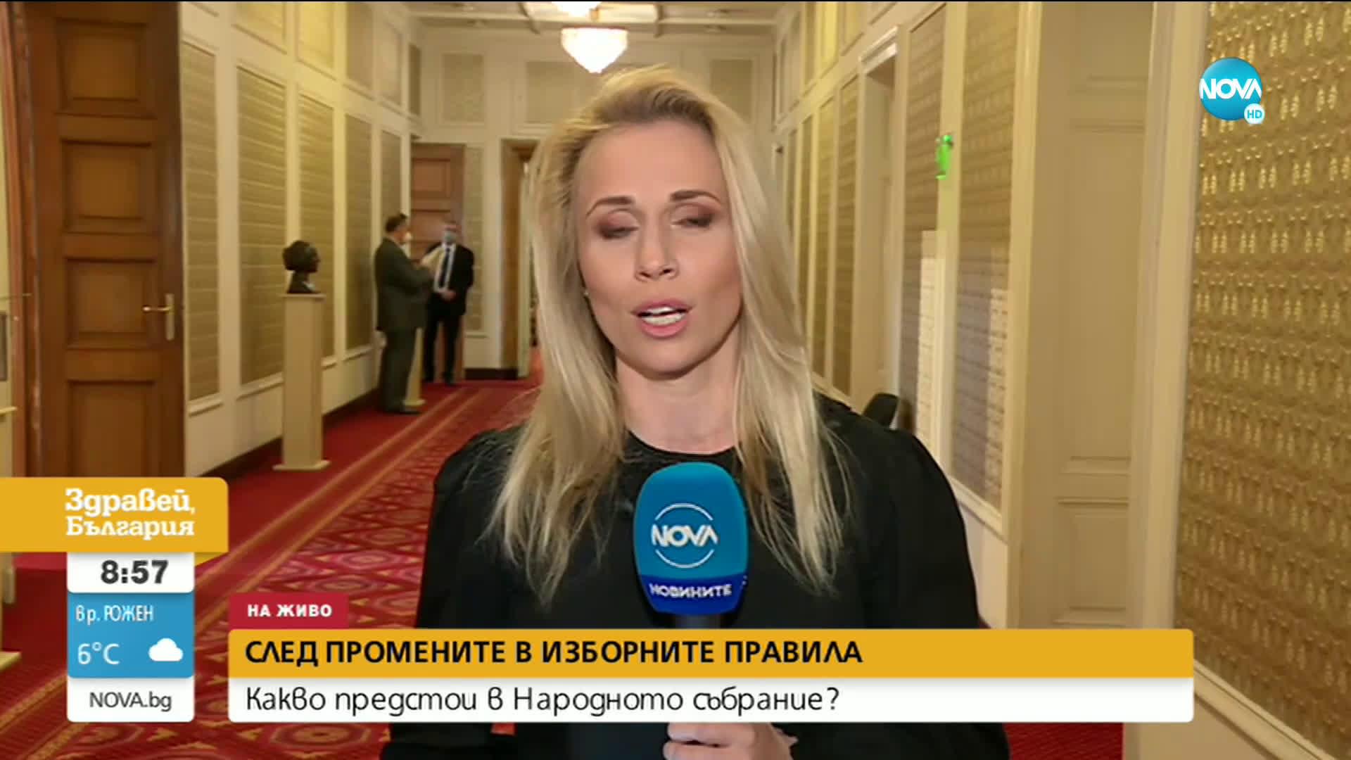 Народното събрание ще обсъди изменение на Закона за политическите партии