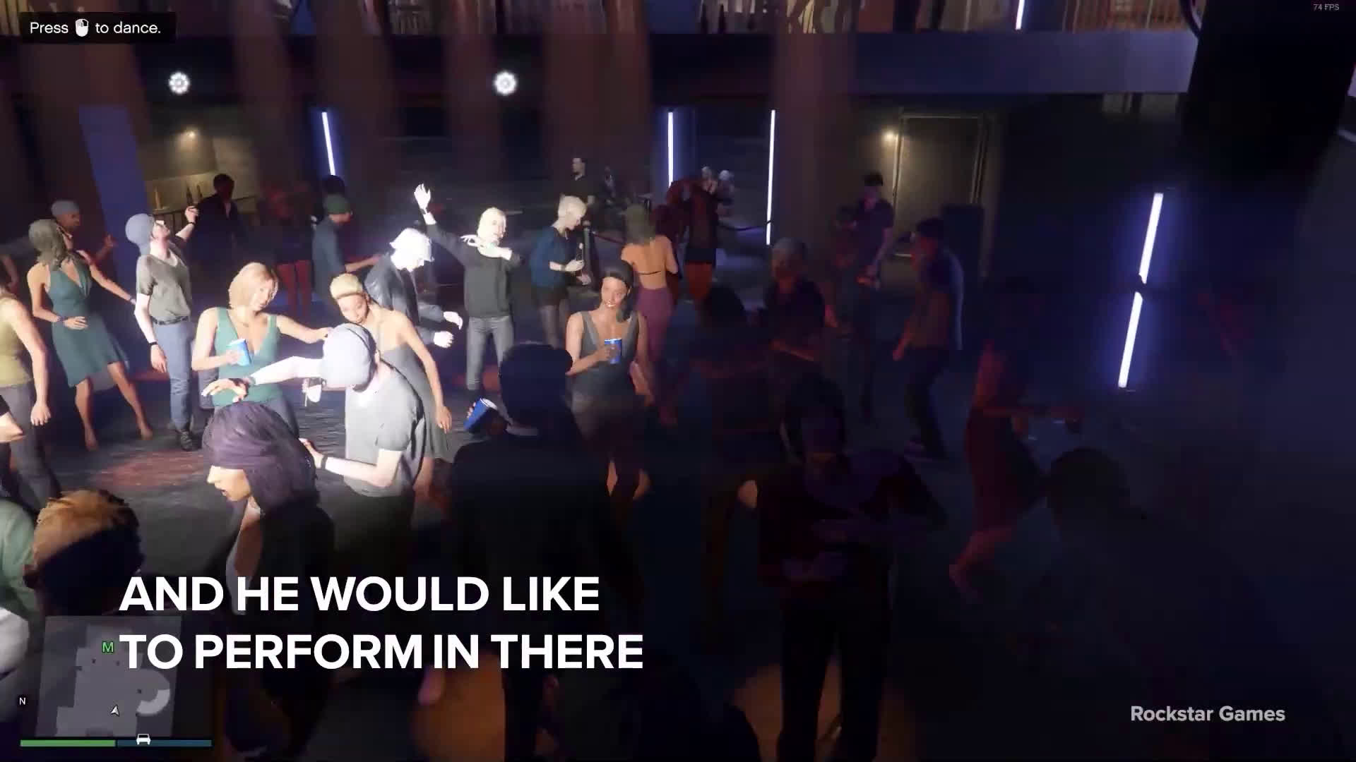 Is GTA Online the next platform to host live concerts?