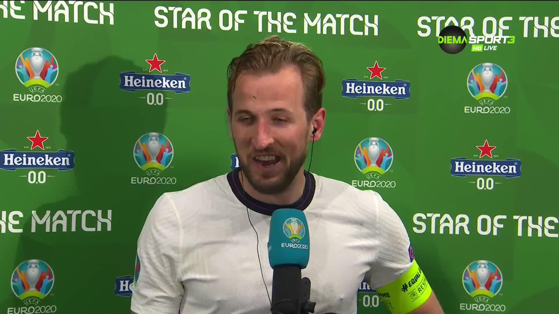 Капитанът-герой Кейн: Усещането е невероятно, очакваме много труден мач срещу Италия