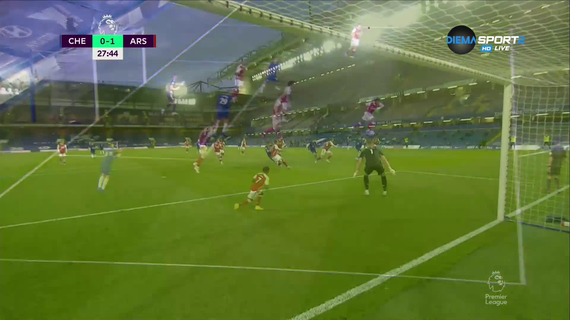 Челси - Арсенал 0:1 /първо полувреме/