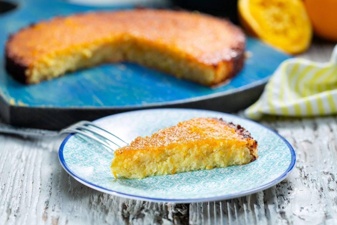 Бон Апети   Портокалов кейк със зехтин