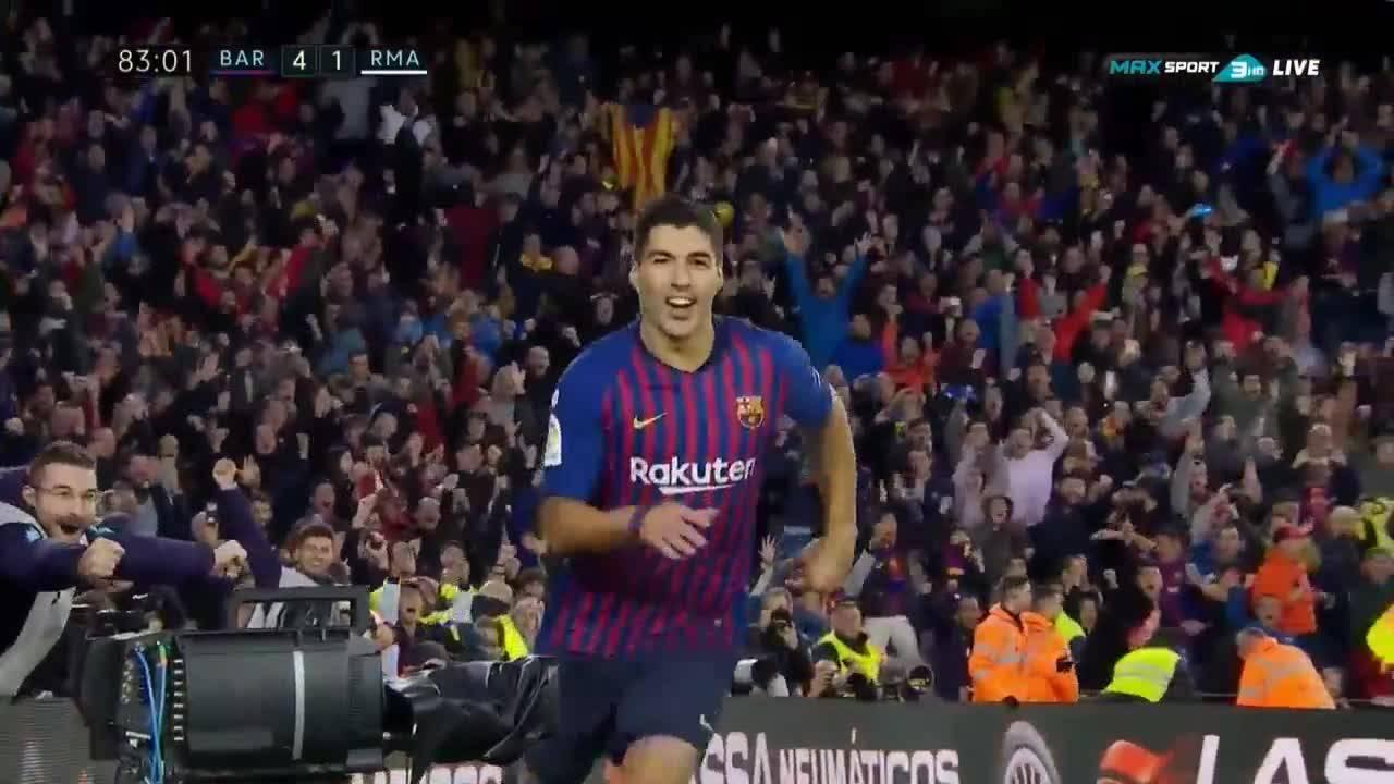 Барселона - Реал Мадрид 5:1 /репортаж/