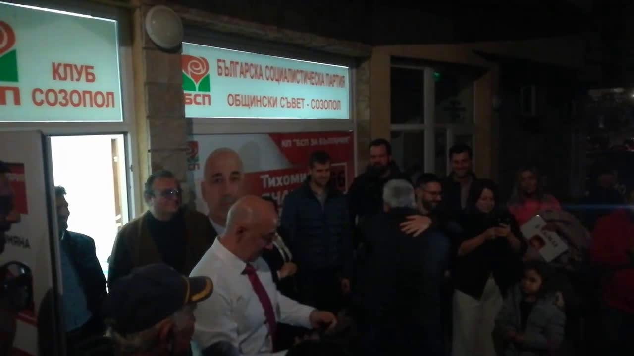 Тихомир Янакиев след победата