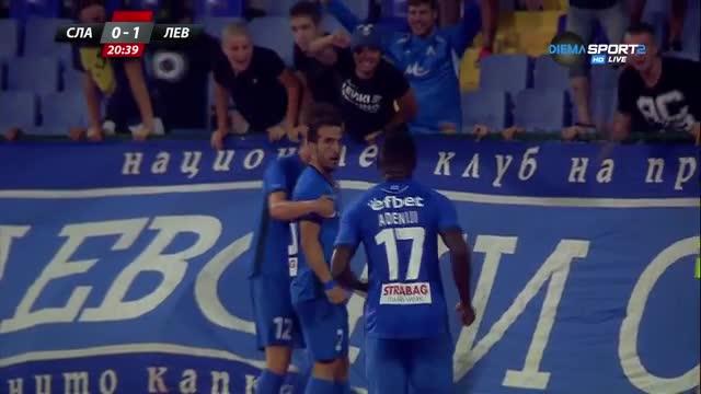 Аниете откри сметката на Левски срещу Славия
