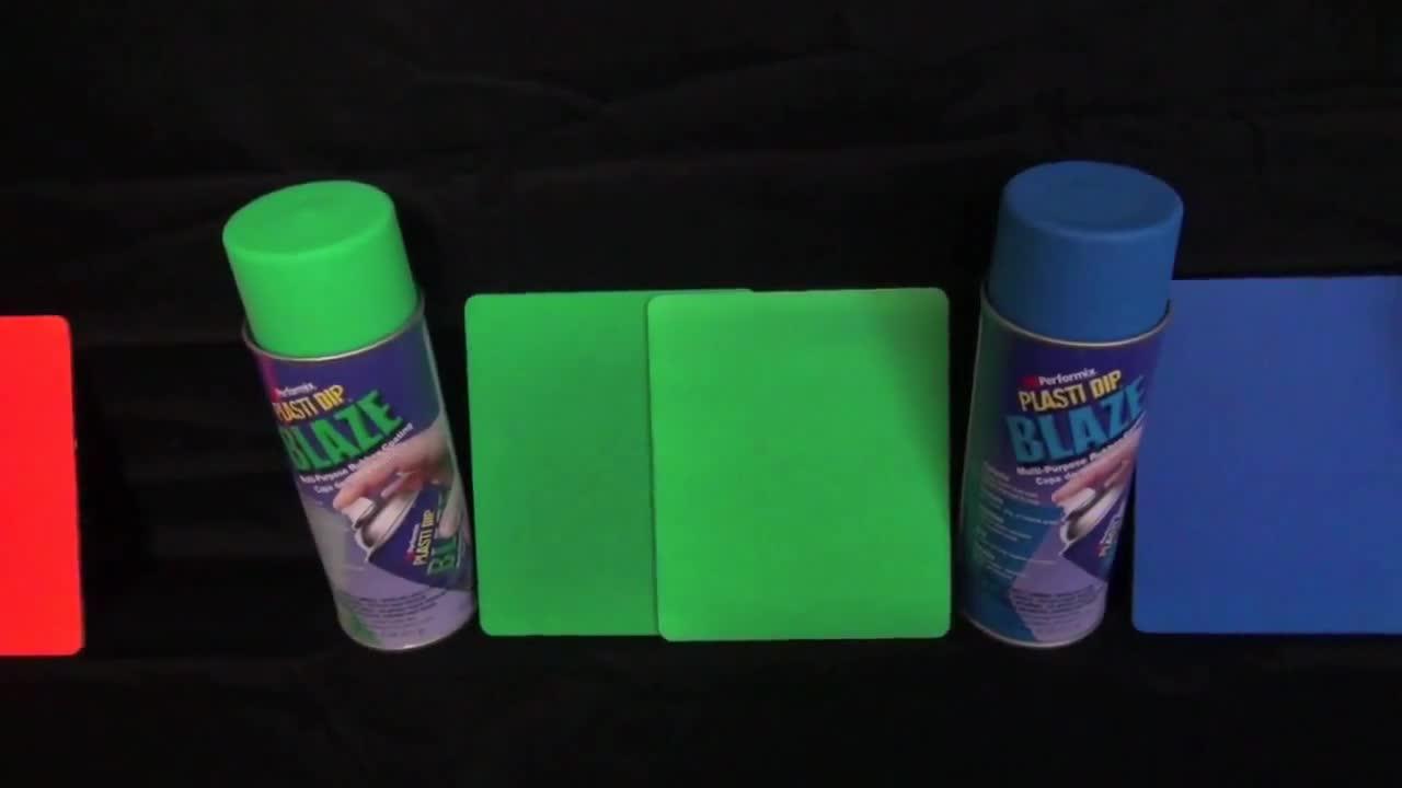 Plasti Dip блейз цветове - розово, лилаво, зелено, жълто