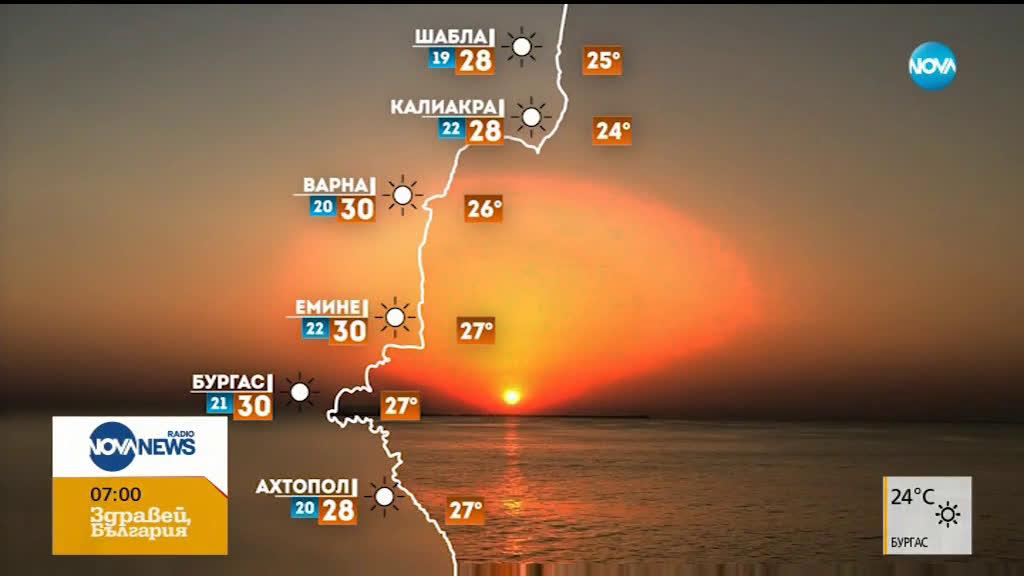 Прогноза за времето (12.08.2019 - сутрешна)