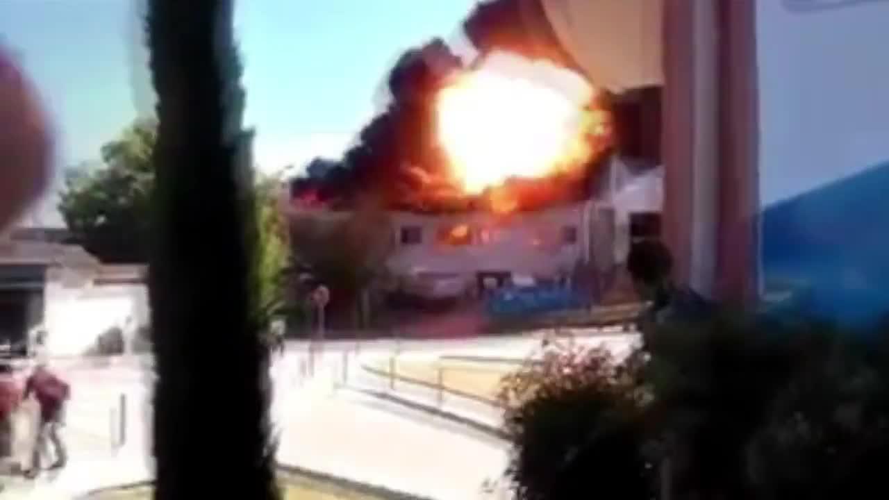 Два мощни взрива във френска болница