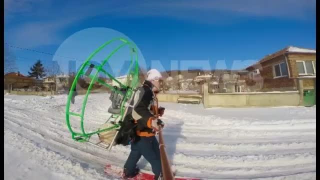 """""""Моята новина"""": Алтернативен метод за придвижване в снега"""
