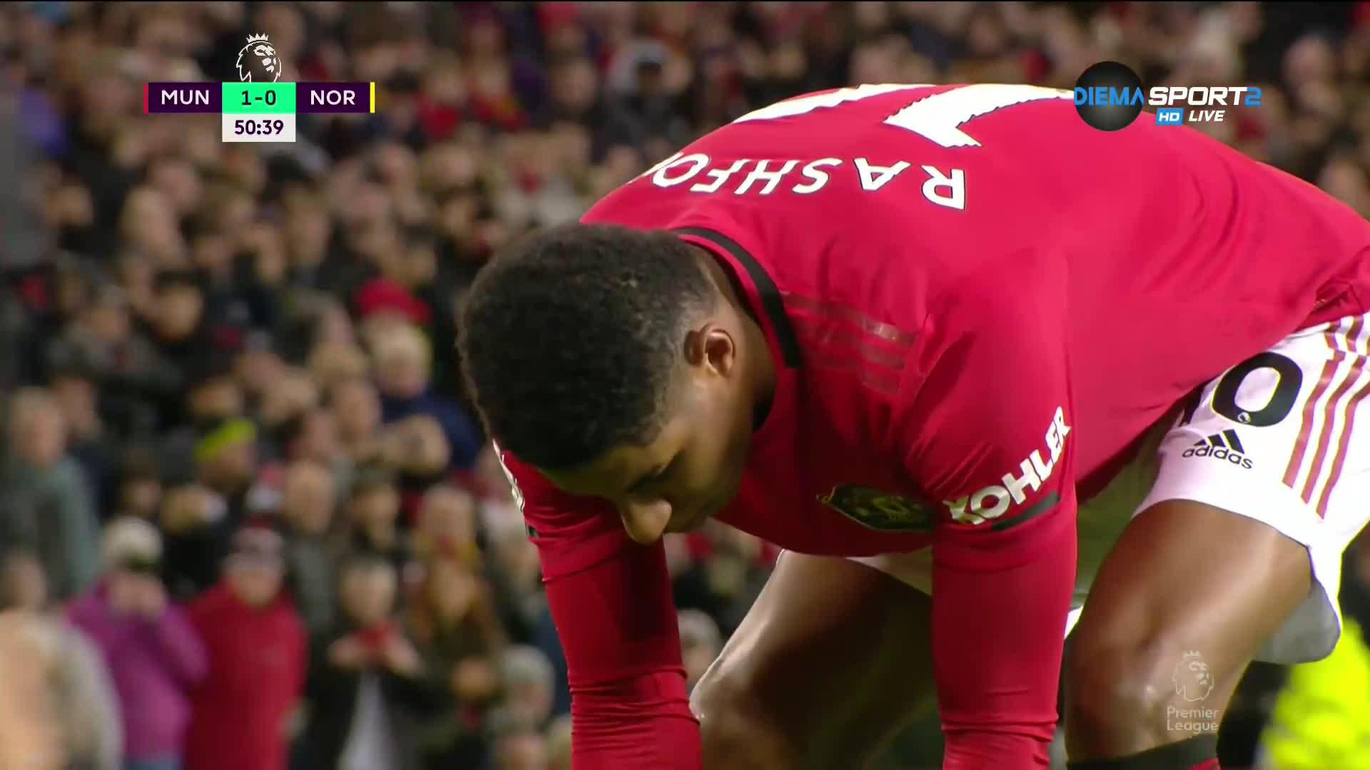 Рашфорд удвои аванса на Юнайтед от 11 метра
