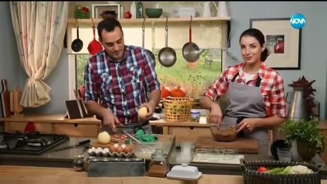 Печен крем с ябълки и орехи - Бон Апети (24.11.2017)