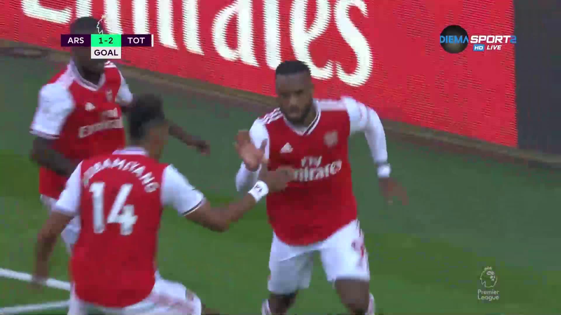 Арсенал върна един гол на Тотнъм