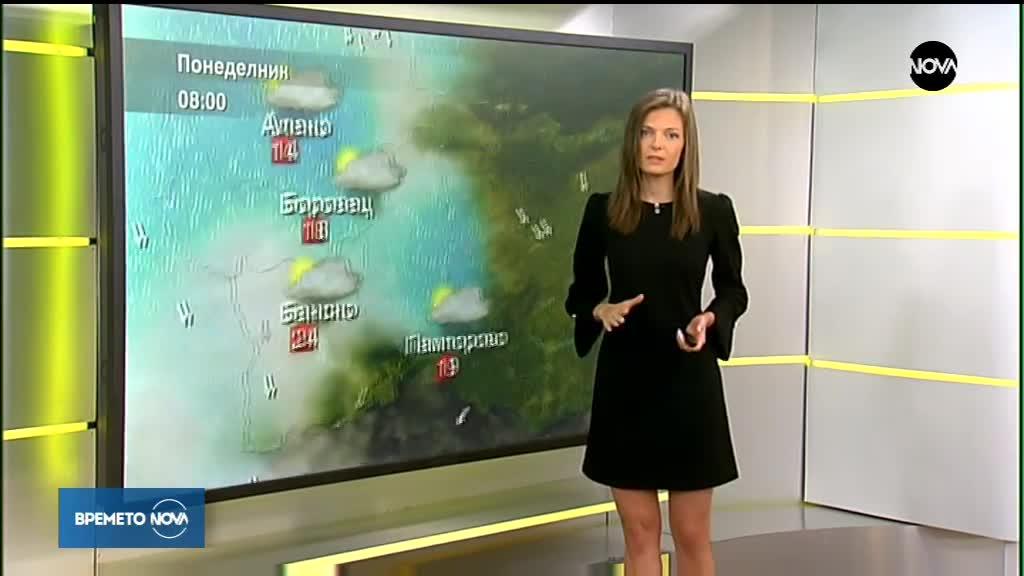 Прогноза за времето (27.08.2018 - сутрешна)