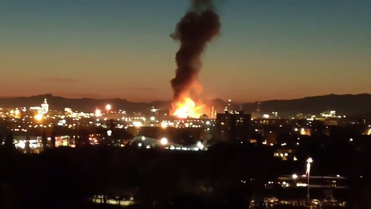 Spain: At least four injured in explosion at chemical plant in Tarragona