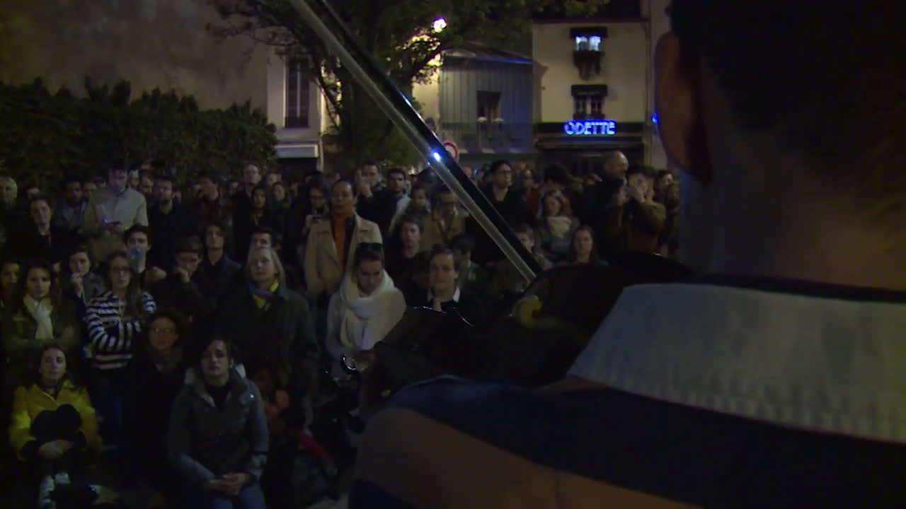 France: Parisians pray and sing as Notre Dame blaze is brought under control