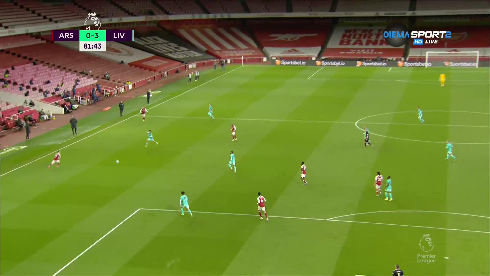 Арсенал - Ливърпул 0:3