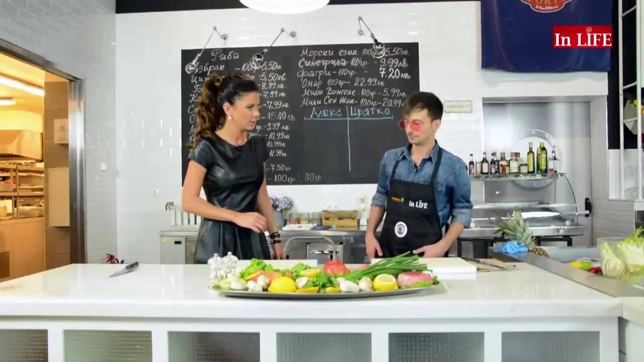 Сьомга Алфредо с Цвятко Ценов! Епизод 9 – коопродукция Откраднат живот и Кухня в Рая!
