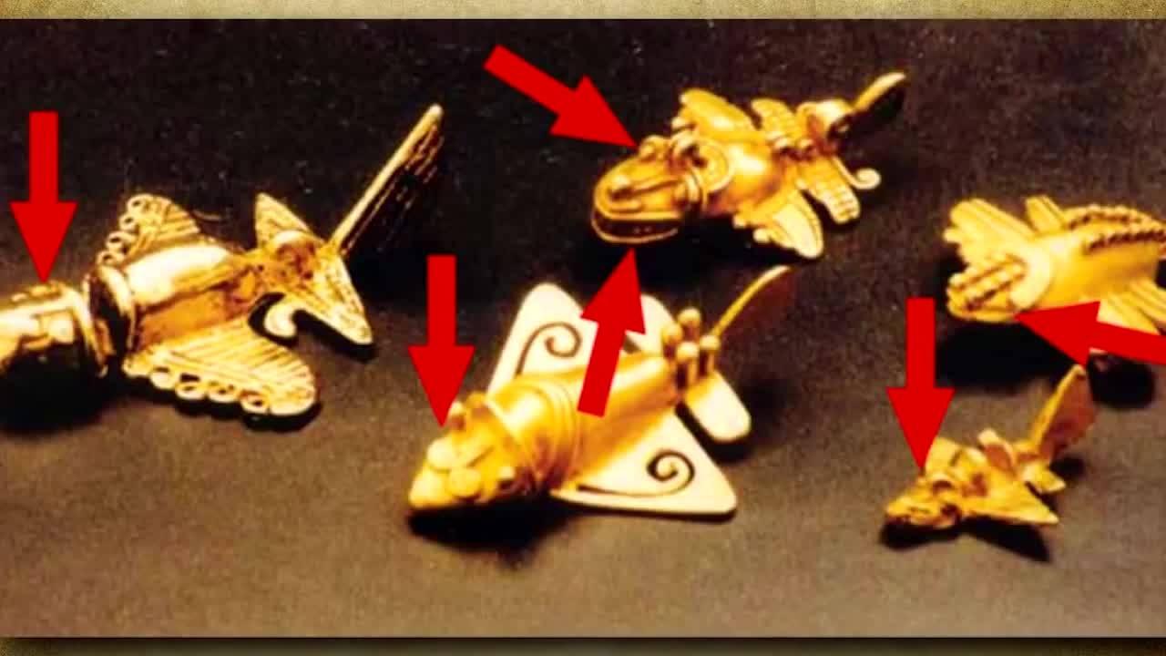Мистерията, обвила древните самолети на Инките