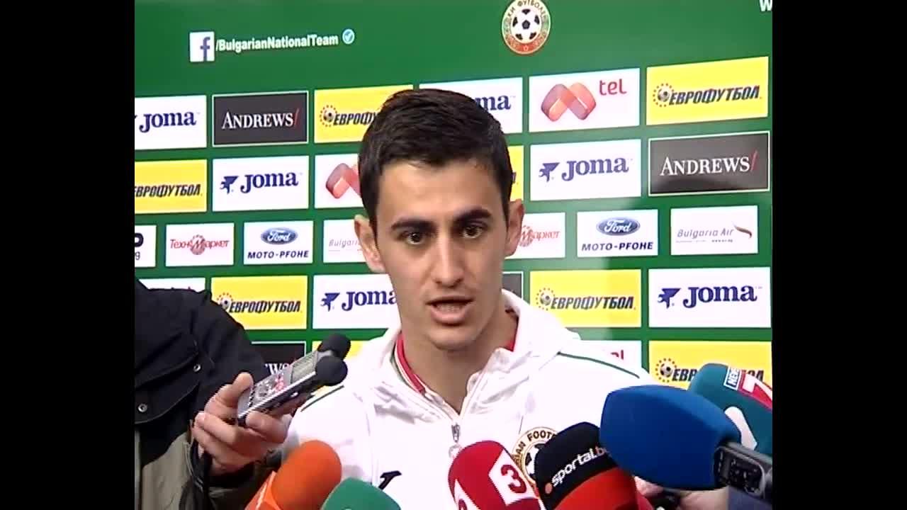Георги Костадинов се надява на добра игра срещу Хърватия