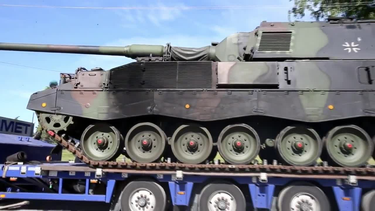 Lithuania: First self-propelled howitzers delivered from Germany