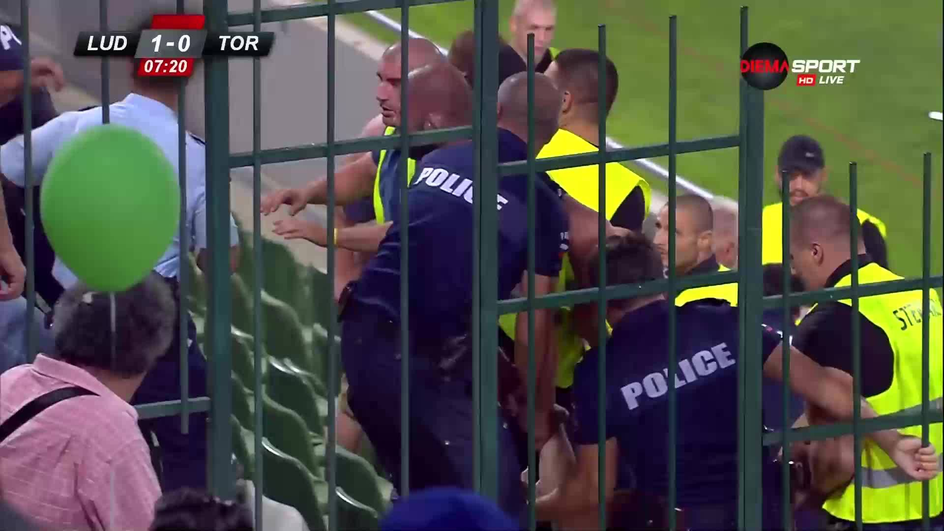 Феновете на Торпедо полудяха след гола на Лудогорец