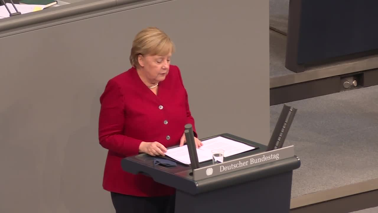 Germany: Merkel calls Afghanistan developments 'dreadful' in parliament address