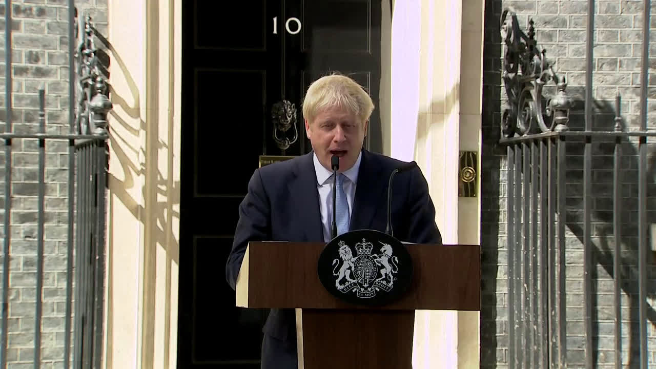 UK: \'No ifs or buts\' - Johnson vows to leave EU in first speech as PM