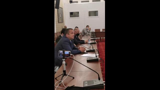 Бизнесменът Светослав Илчовски пред комисията по проверка на управлението
