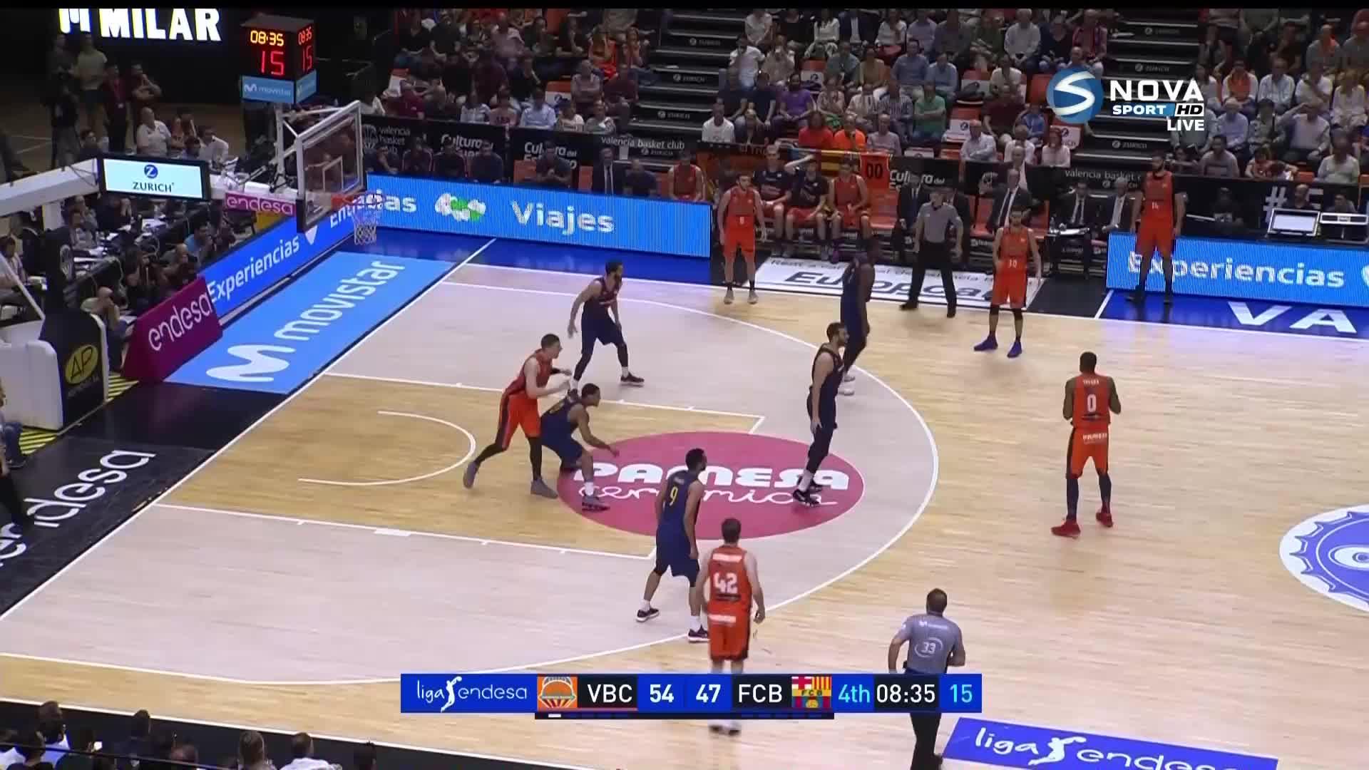 Валенсия - Барселона 70:71 /репортаж/