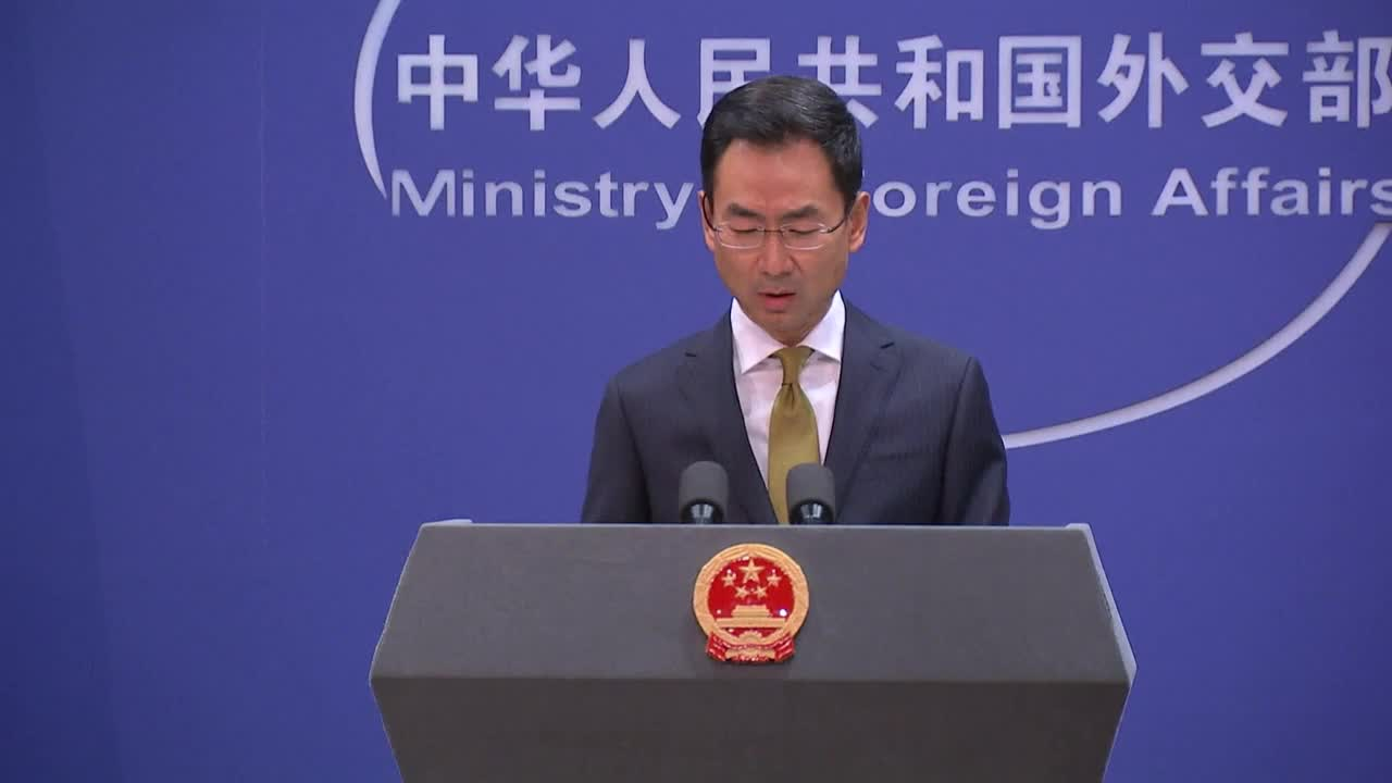 China: US must withdraw sanctions or 'bear the face consequences'