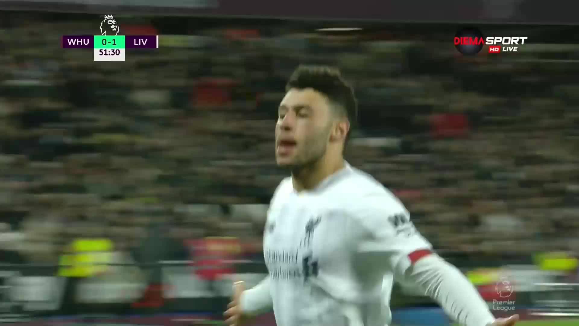 Втори гол за Ливърпул, Осклейд-Чембърлейн ликува