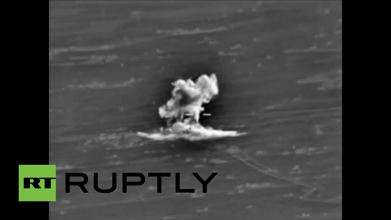 Syria: Russian airstrikes hit Islamic State in Aleppo