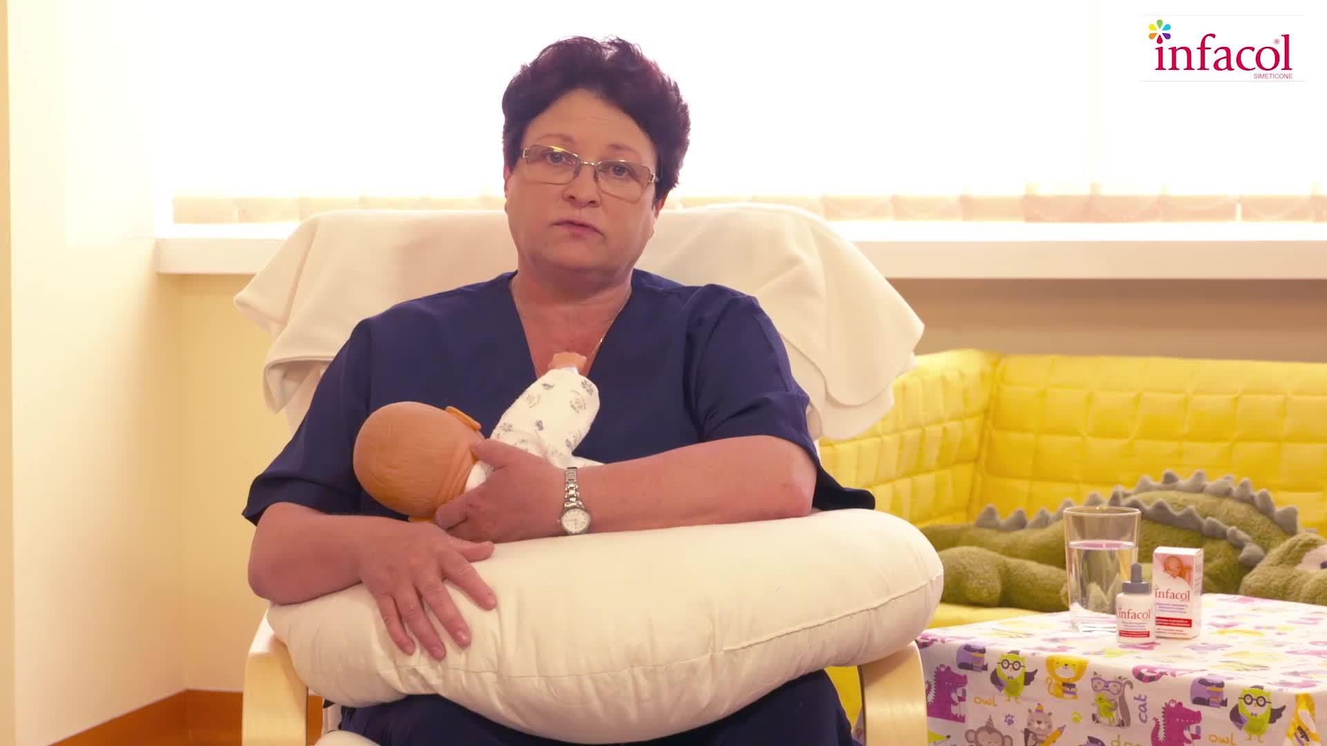 Как се кърми така, че бебето да няма колики?