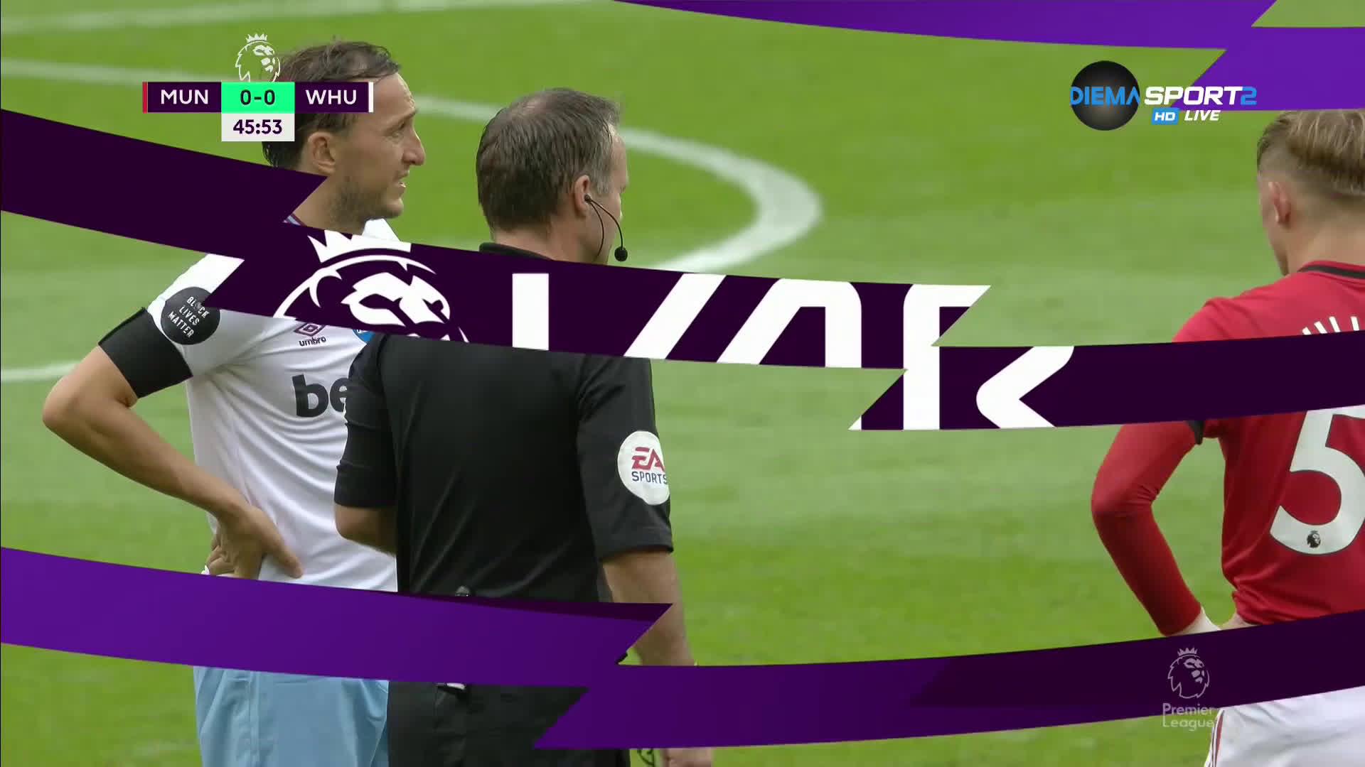 Манчестър Юнайтед - Уест Хем 1:1 /репортаж/
