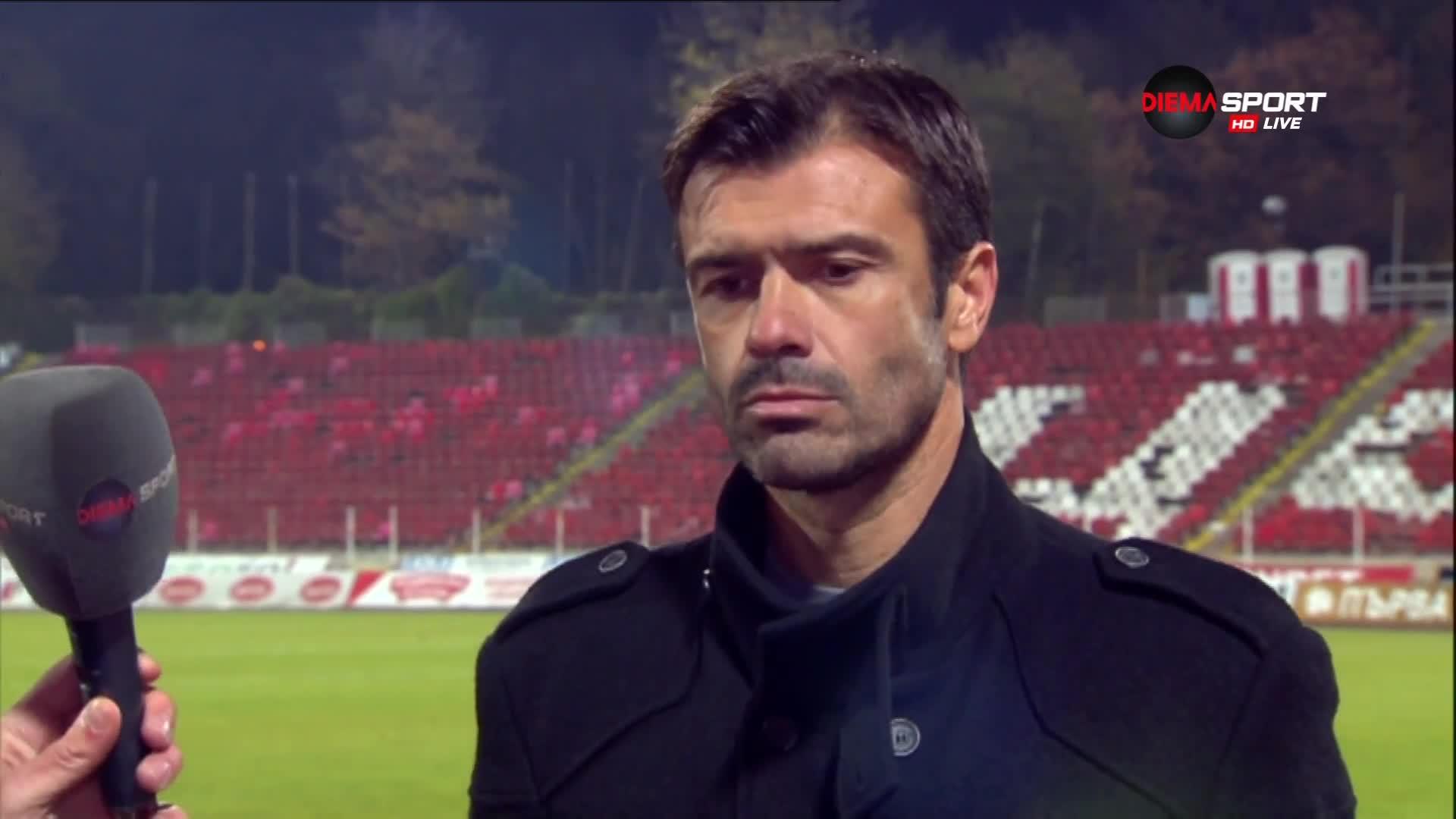 Кирилов: Мачът вървеше 0:0, но това не е моят футбол
