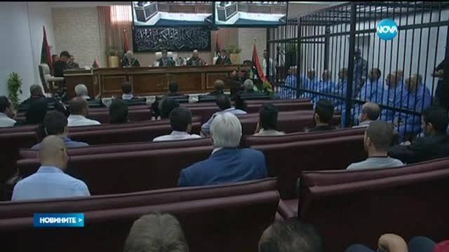 Синът на Муамар Кадафи - осъден на смърт