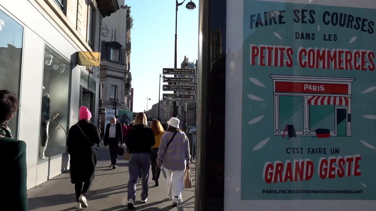France: Shops reopen as second nationwide lockdown gradually eases
