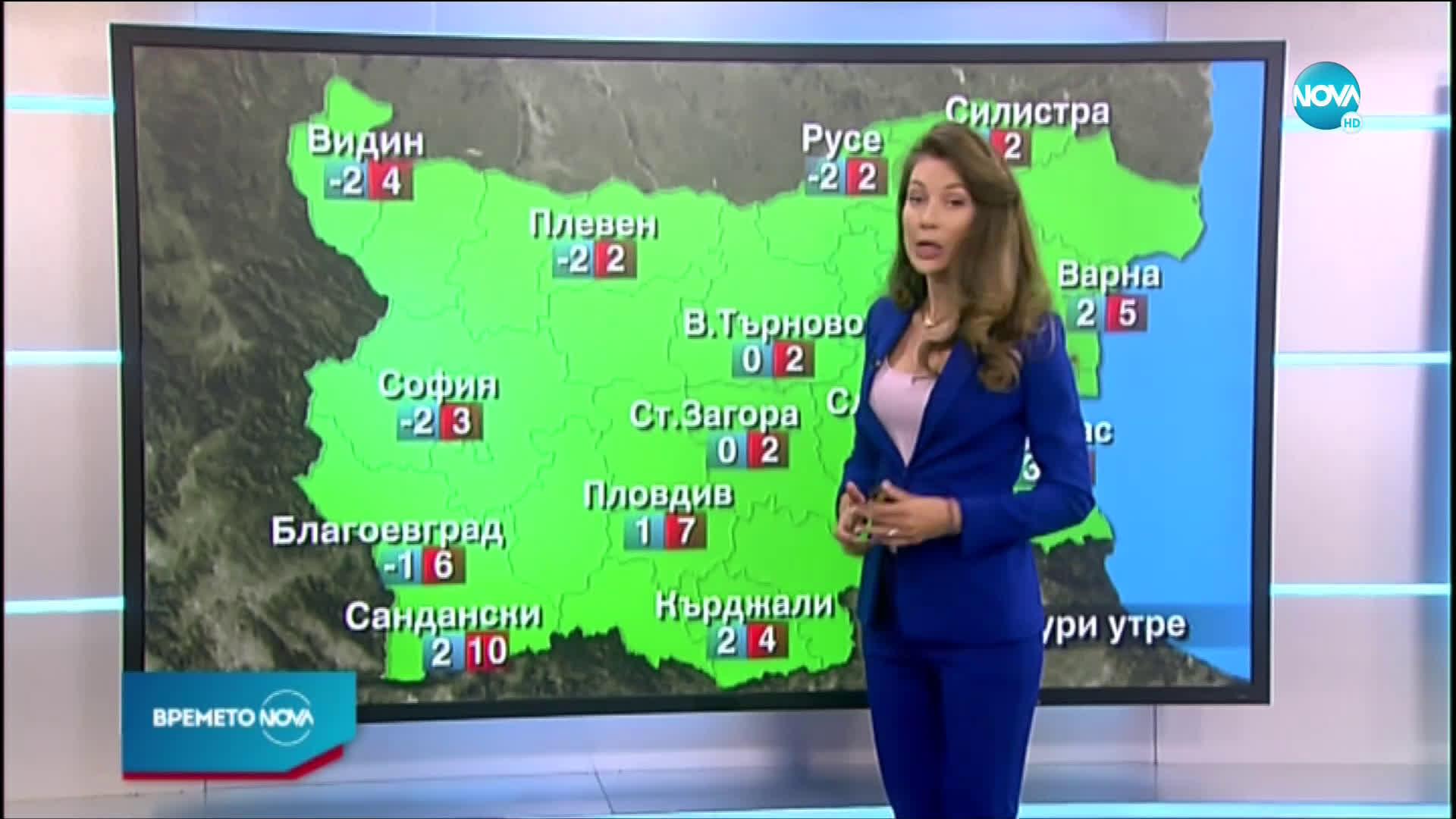 Прогноза за времето (10.03.2021 - централна емисия)
