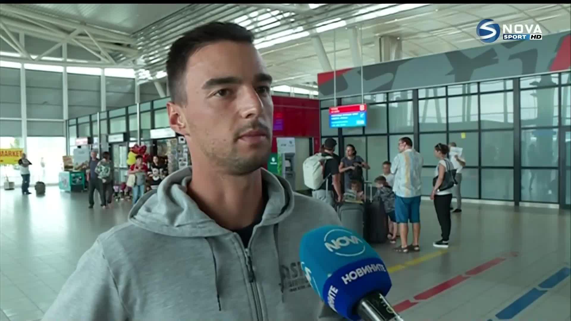 Димитър Кузманов се прибра след титлата в Познан