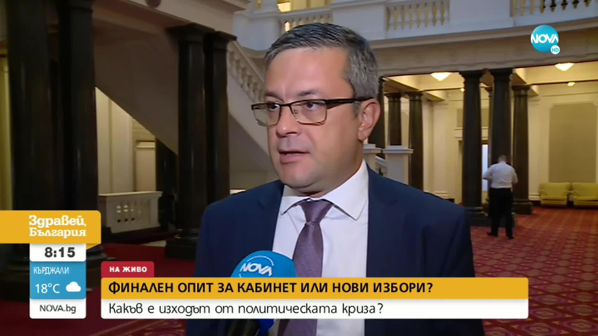 Биков: Цената на още едни предсрочни избори ще бъде платена от народа