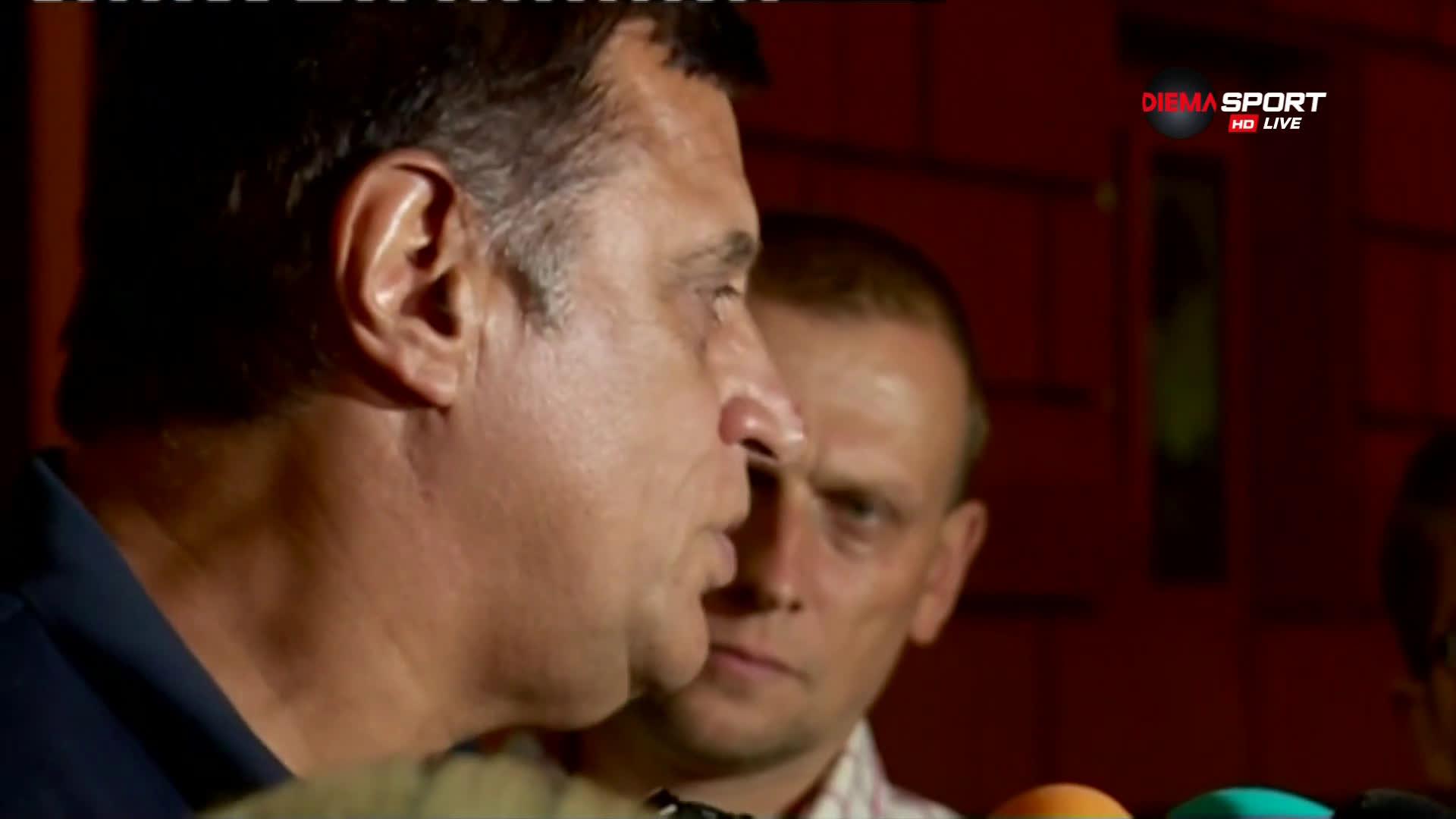 Стойне Манолов: Ако играем така, ще останем в елита