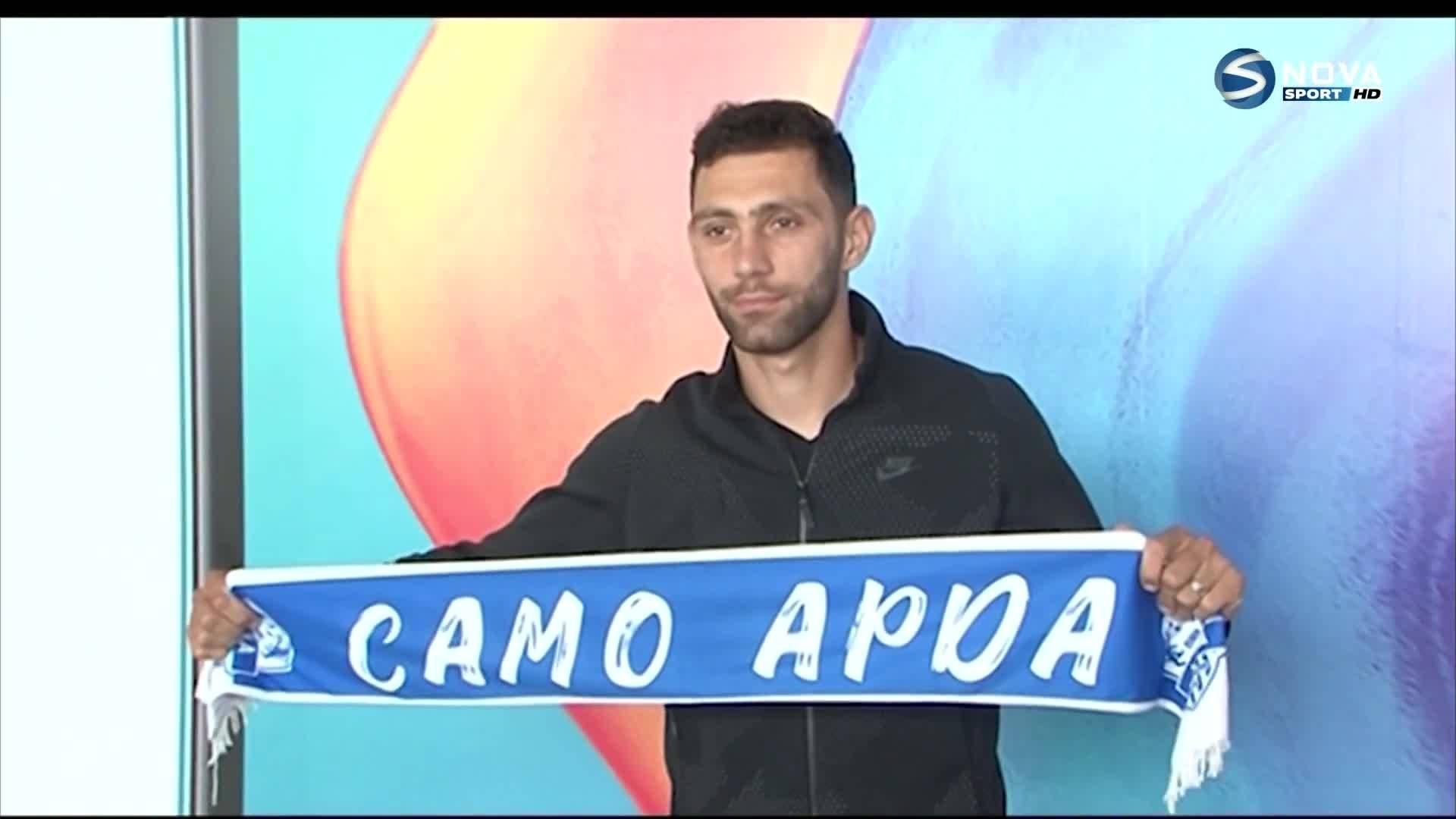 Осепян: Играл съм срещу Левски, футболът в България е на добро ниво