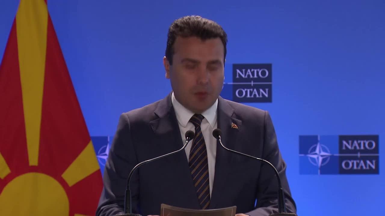 Belgium: NATO's door is open, Macedonia on the doorstep, says Stoltenberg