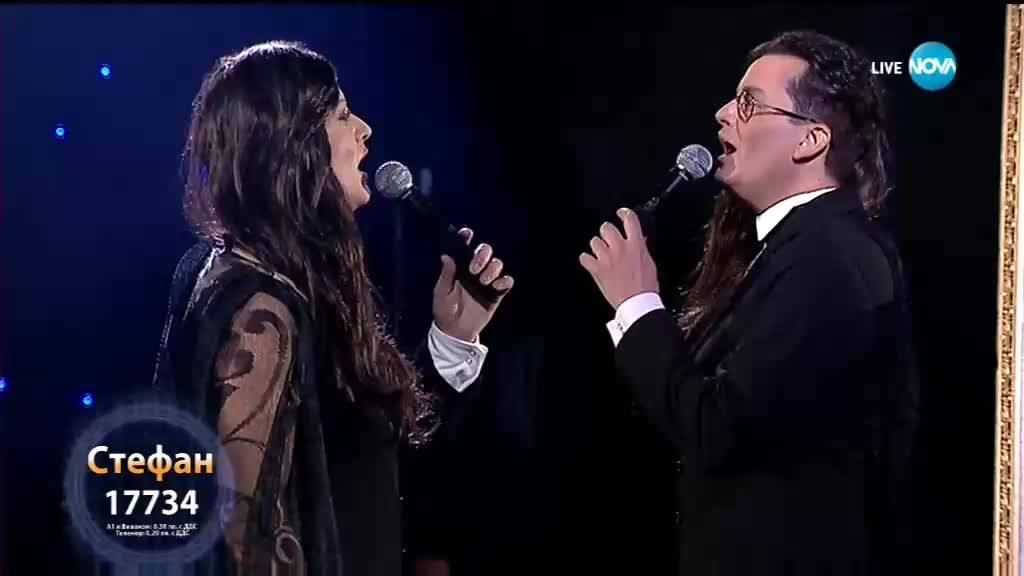 "Стефан Илчев като Marc Anthony и Tina Arena - ""I want to Spend My Lifetime Loving You"""