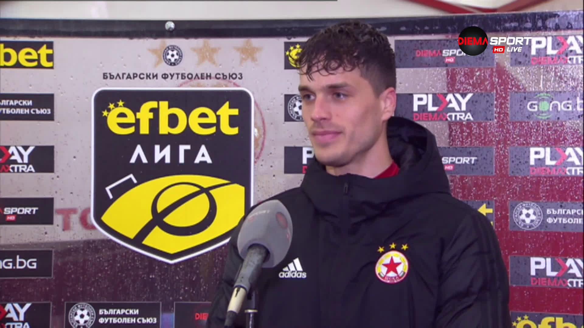 Матей: Борихме се през целия мач