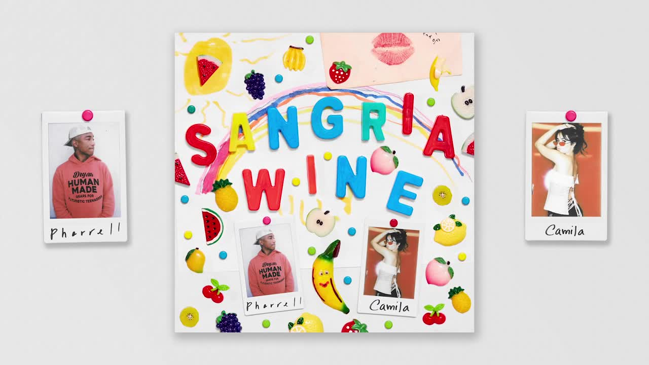 Pharrell Williams x Camila Cabello - Sangria Wine ( Official Audio )